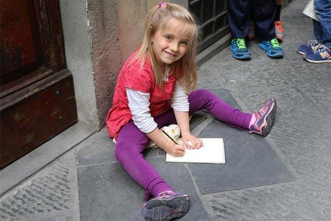 Rome Kids Sketch Hunt in Piazza Navona