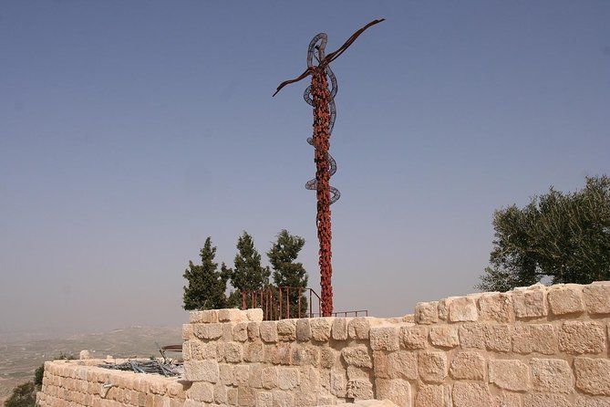 West ( Madaba, Mt Nebo, baptism site and dead sea)