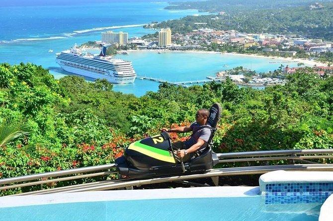 Jamaica Bobsled Adventure Tour from Ocho Rios