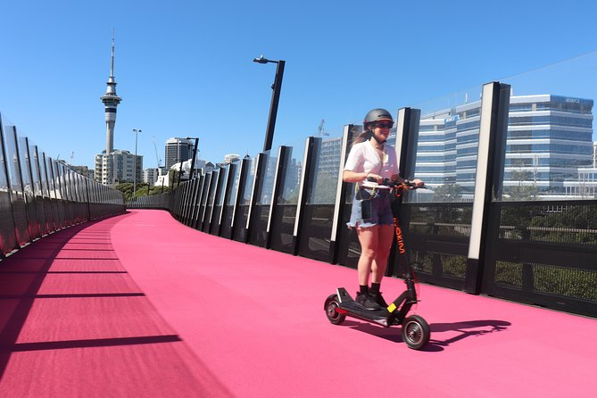 E-Scooter Tours New Zealand - Auckland Sea To Summit Tour.