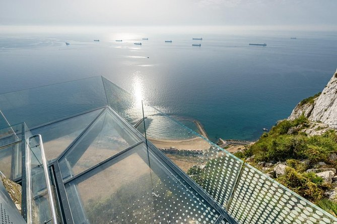 Gibraltar Inside Out Skywalk & Suspension Bridge Tour 1.45hrs From 1 to 8 person