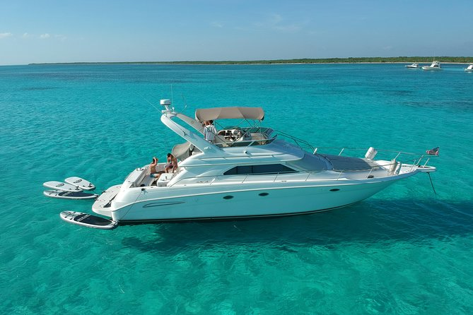 4-Hour Private Boat Rental - 51' Sea Ray, Tulum, Playa del Carmen, Riviera Maya