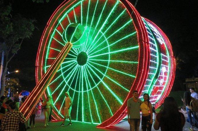Medellin Christmas lights tour