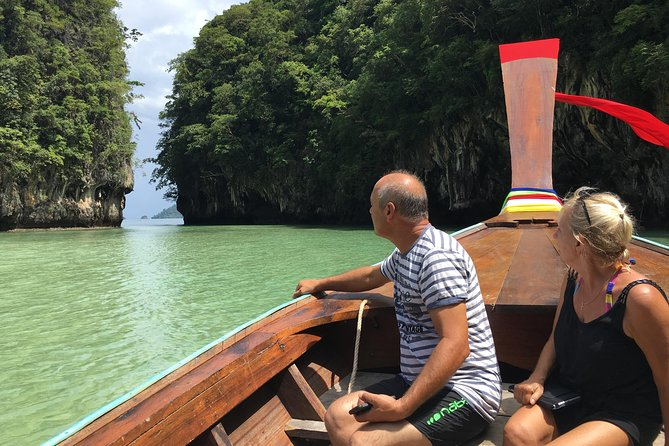 Krabi Hong Island Tour: Charter Private Long-tail Boat by Railay Local Travel
