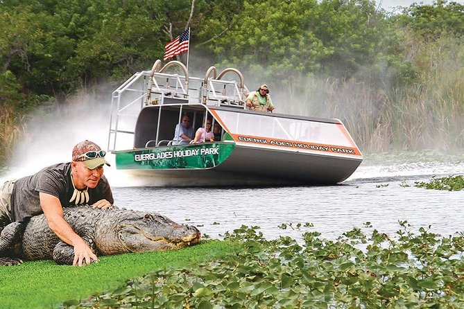 Fort Lauderdale City Tour with an Airboat Tour and the World Guitar Shape Hotel