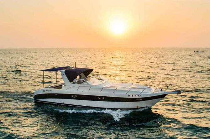 Luxury Private Yacht From Dubai Water Canal with 2 Way Transfers