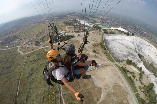 Daily Pamukkale Tour and Paragliding