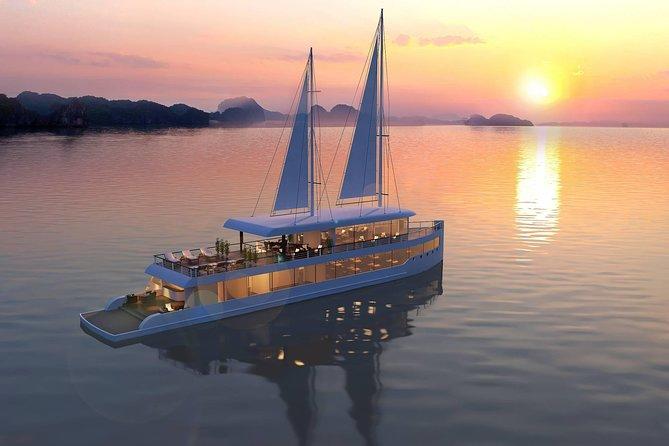Halong Jade Sails Luxury Cruise Full Day