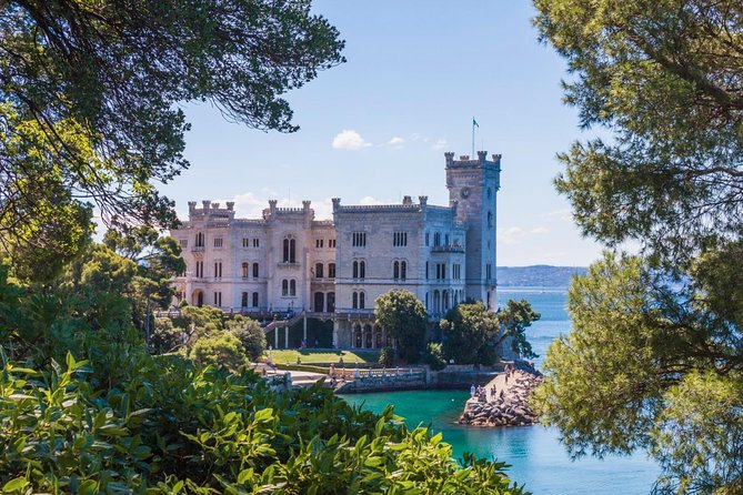 Trieste & Miramare castle (up to 8 persons)