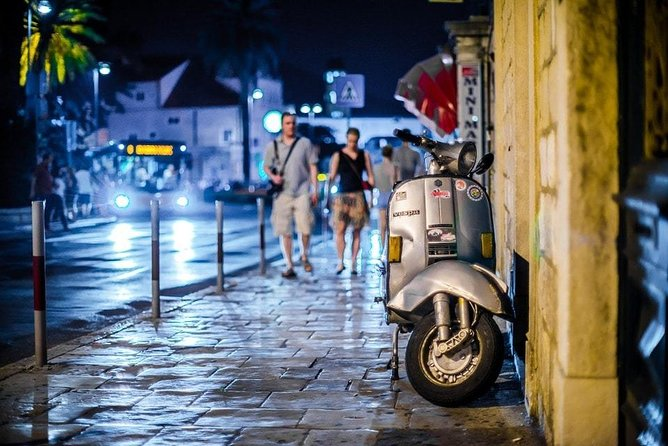 Vespa Tour with driver Rome By Night 3 hours
