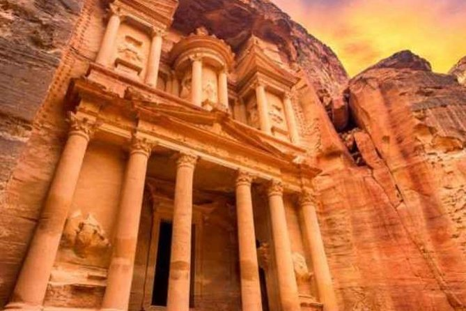 Petra, Wadi Rum and Dead Sea from Amman or Airport in 2-Days
