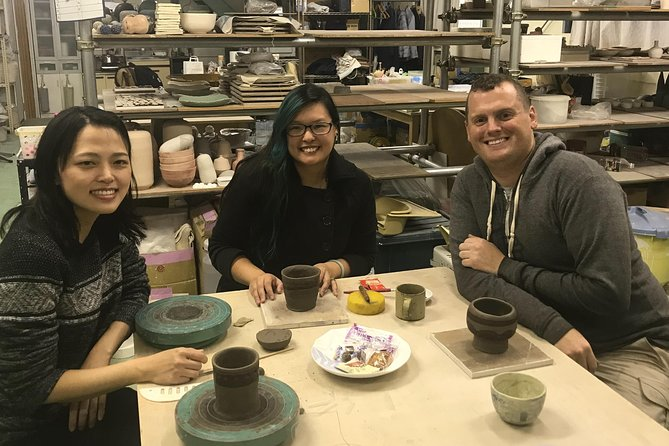 Ceramic Plate Creating Workshop in Saitama
