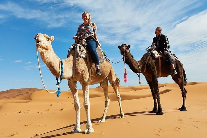 5-Day Desert Tour from Marrakech to Merzouga with Camel Ride