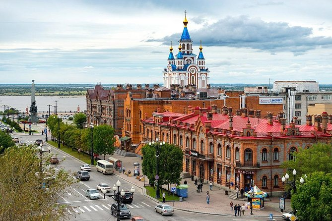 Private Walking tour with a visit to the Khabarovsk Regional Museum Grodekova