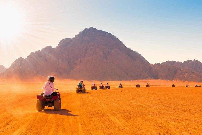 Morning Hurghada Desert Safari Quad Bike & ATV Tours With the Bedouin Village