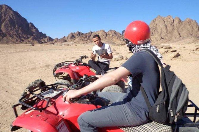 Sharm El Sheikh: Quad Runner Bike Adventure & Camel Rides