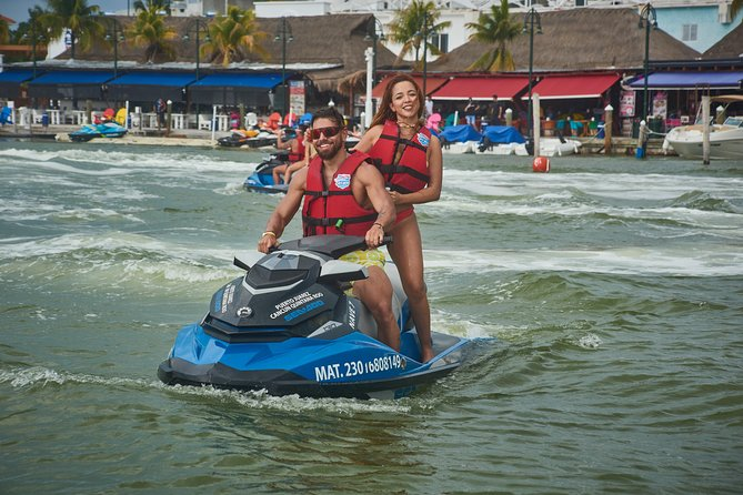 Jet Ski Guided Tour: Discover Cancun's Mangrove Canals (Share Jet ski 2pax)