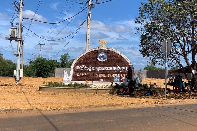 Siem Reap to Sambor Priekuk Temple Site Round Trip