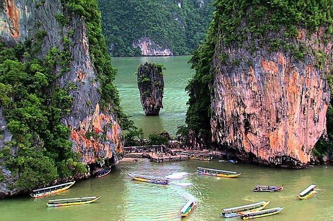 Full-Day James Bond Island Speedboat Tour from Phuket