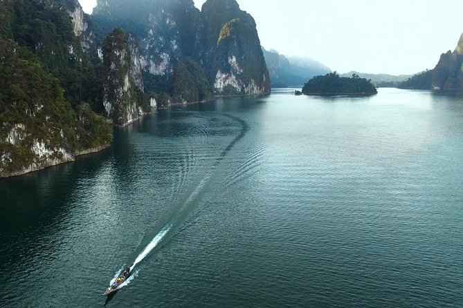 Cheow Lan Lake and Coral Cave Tour with Kayaking: from Krabi