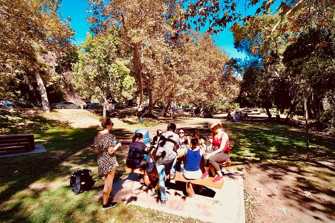 Hollywood Bike and Hike Private Tour with Picnic