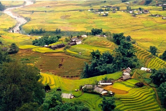 Rice Fields & Waterfall Full Day Trek In Sapa