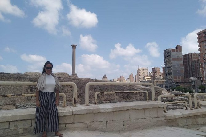 guided private tours Alexandria from Cairo or Giza hotels