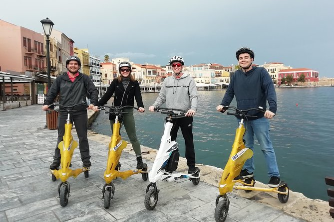 40-Minute Chania Sightseeing Tour by Trikke