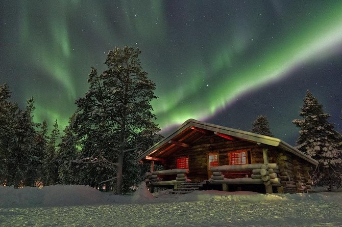Private 4-hour Northern Lights Tour from Rovaniemi with hotel pick up