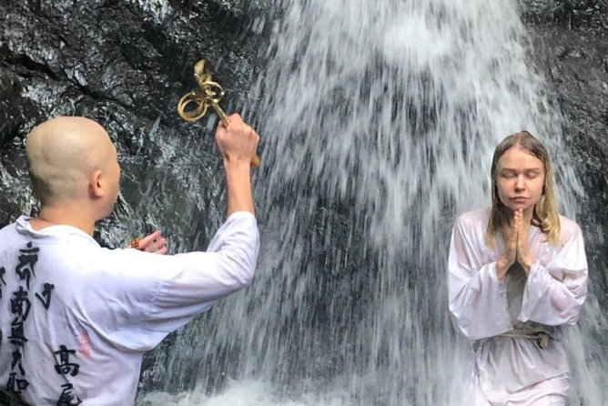 Waterfall Meditation Experience on Mt Takao in Tokyo