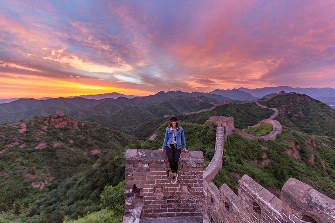 Jinshanling to Simatai Great Wall Private hiking tour