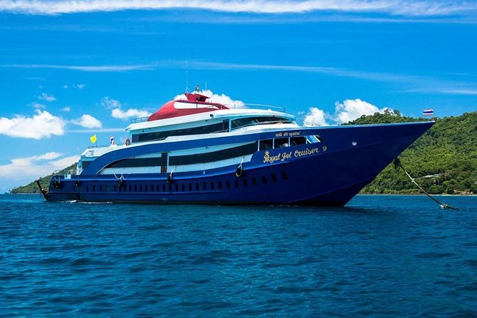 Phi Phi Islands Tour First Class By Royal Jet Cruiser From Phuket
