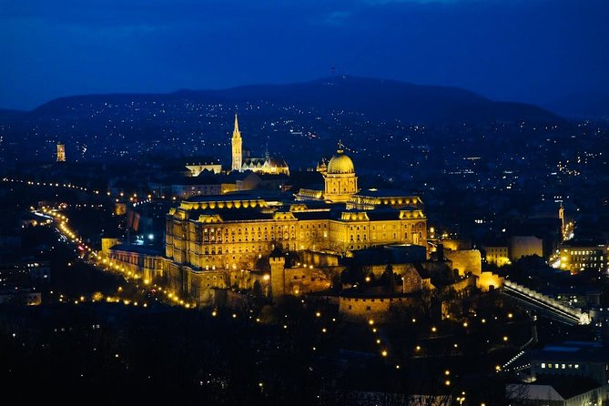 Budapest by Night: Buda Castle & Citadel Private Walking Tour
