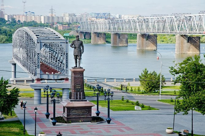 Private City Walking tour of Novosibirsk with boat trip on Ob' river