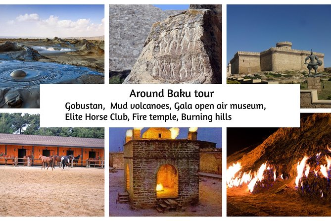 Around Baku Full day Group tour: Gobustan, Mud Volcanoes & Trails of fire photo 1