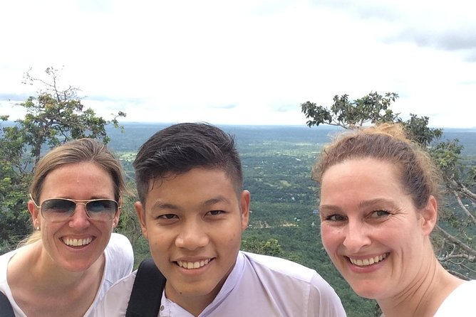 At Mt Popa from the top