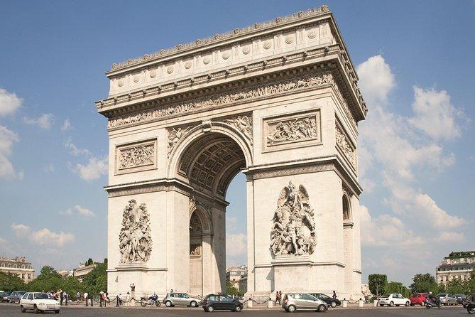 Tour privado de la ciudad de París con minivan