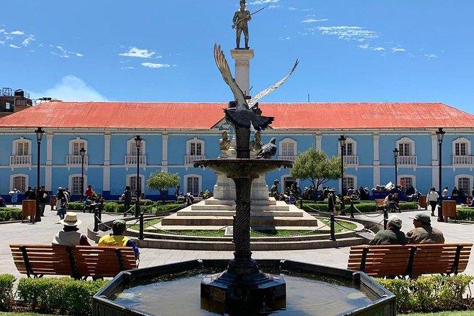 Walking City tour Puno