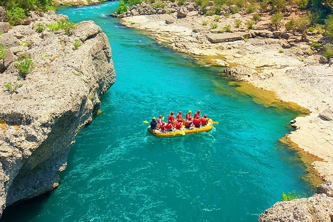 Whitewater Rafting at Koprulu Canyon Antalya