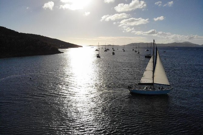 Group Sunset Sail St. John