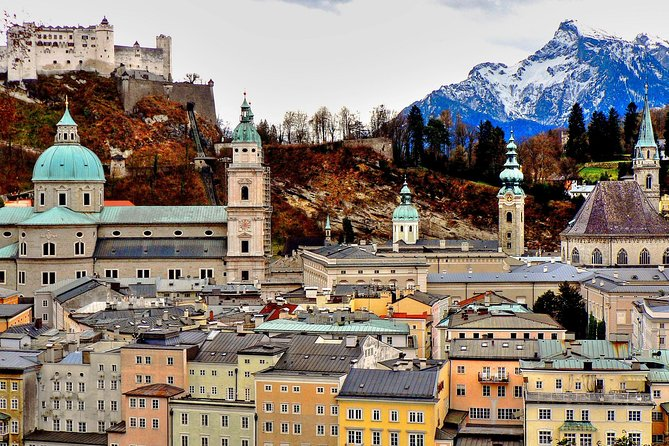 Private full day trip to Salzburg from Vienna