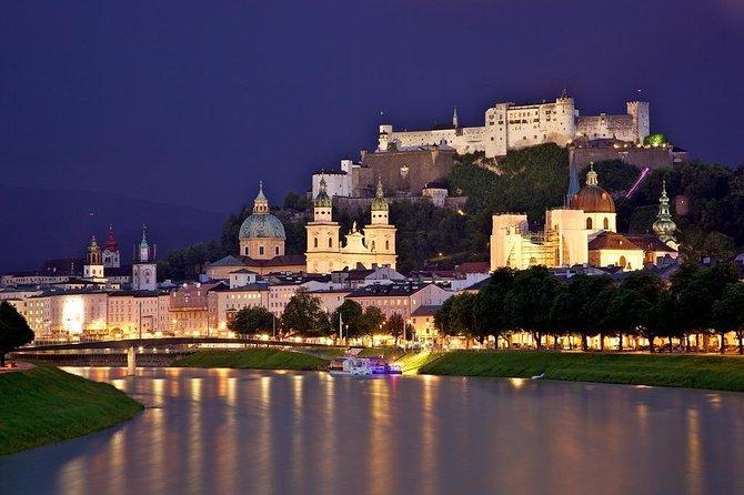 Viagem de dia inteiro privada a Salzburgo saindo de Viena
