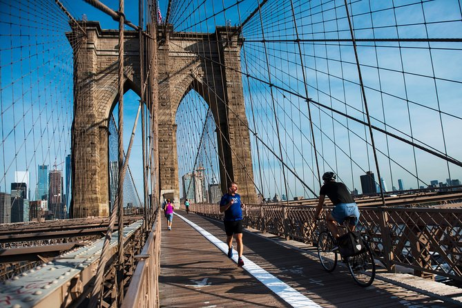 Manhattan en Brooklyn Bridge fietstocht