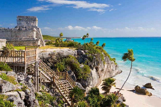 Original 4x1 Tour Tulum, Coba, Cenote and Playa del Carmen in One Full Day