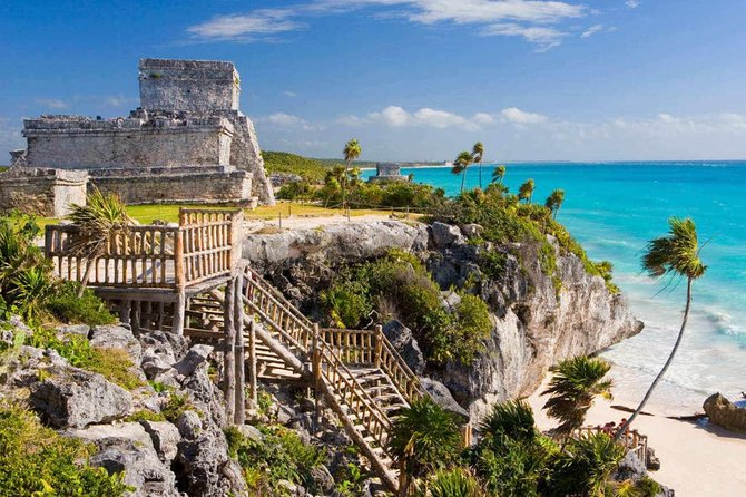 4x1 Complete Full Day Tour to Tulum, Coba, Cenote and Playa del Carmen