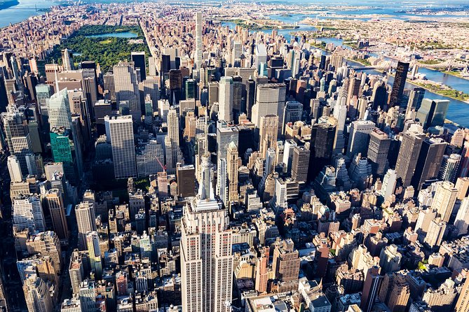 New York Manhattan Hubschrauberrundflug