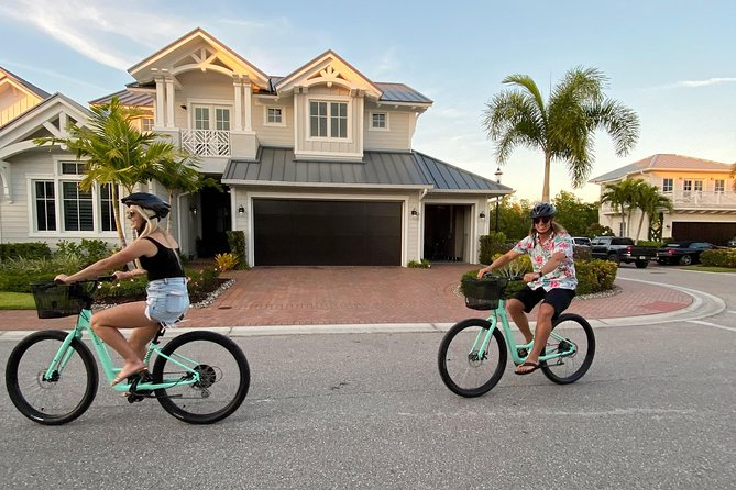 Guided Bike Tour - Downtown Naples Florida