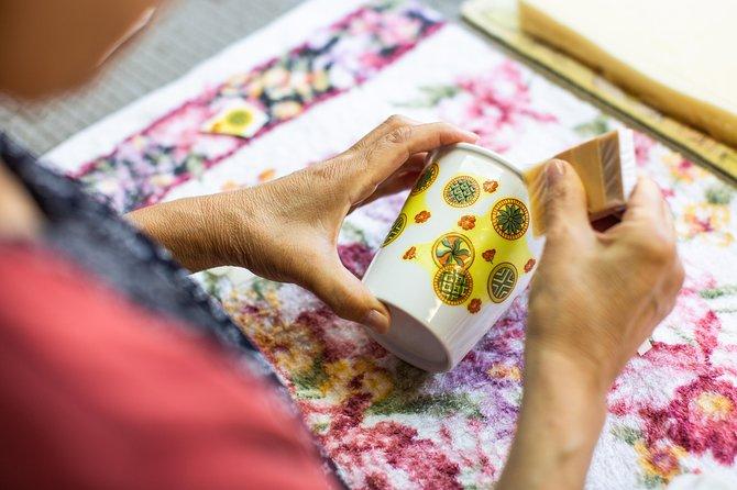 Add Your Own Unique Design to an Arita Porcelain Coffee Mug