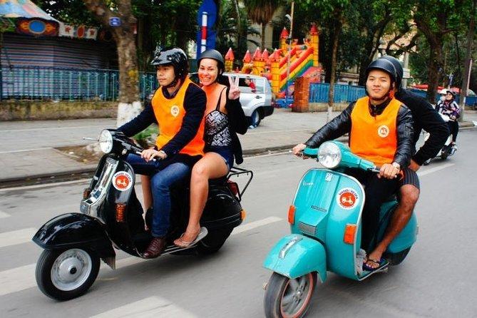 Vespa Tour Hanoi After Dark