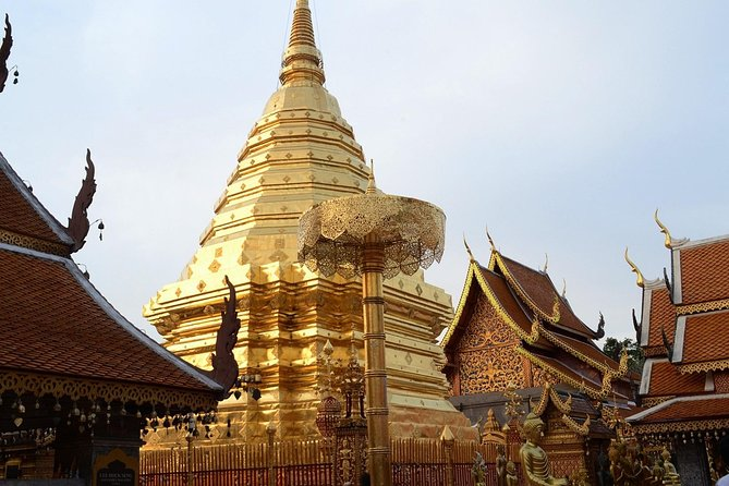 Hot! Doisuthep Temple+Wat Palad+Sticky waterfall